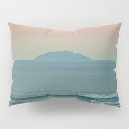 Tres Palmas Pink Sunset Pillow Sham