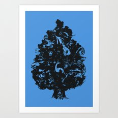 Adventures in Cryptozoology Art Print