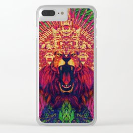 Spirit animal - The Lion Clear iPhone Case