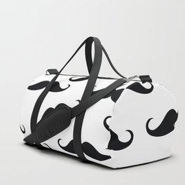 Gentleman mustache pattern Duffle Bag
