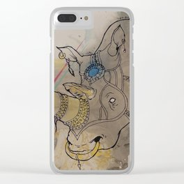 Embellished Rhino Clear iPhone Case