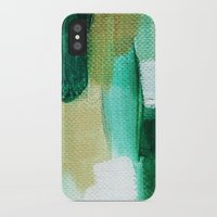emerald iPhone & iPod Cases featuring Emerald by Patricia Vargas