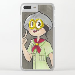 Sheldon Clear iPhone Case