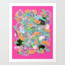 Alien Organism 8 Art Print