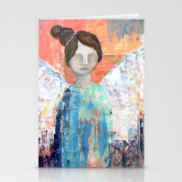 Spring Angel {2} Stationery Cards