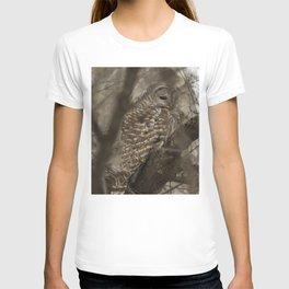 Barred Owl Hunting T-shirt