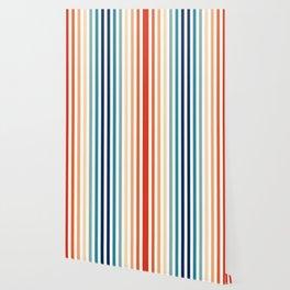 Mod Stripes Wallpaper