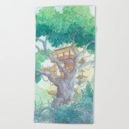 Tree Top Beach Towel