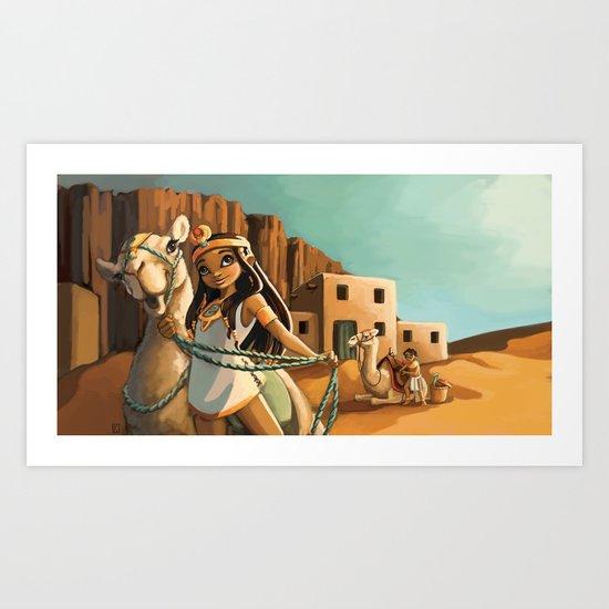 Egypte Art Print