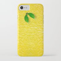 lemon iPhone & iPod Cases featuring Lemon by Diego Tirigall