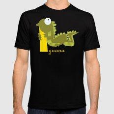 i for iguana Mens Fitted Tee MEDIUM Black