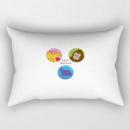 Save Nature Rectangular Pillow