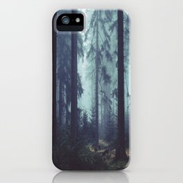The Mystery of the Dark Walker iPhone Case