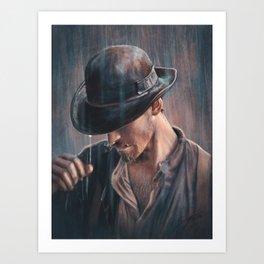 For now, JJ, farewell... Art Print