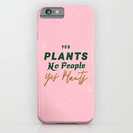 Plant Parent iPhone Case