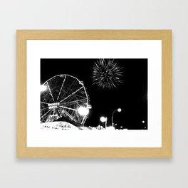 Coney Island, Brooklyn Framed Art Print