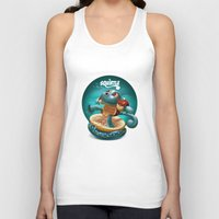 squirtle Tank Tops featuring Squirtle by Danilo Fiocco