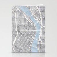 portland Stationery Cards featuring Portland Oregon by Anne E. McGraw