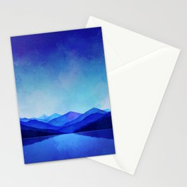 Midnight Blue Stationery Cards
