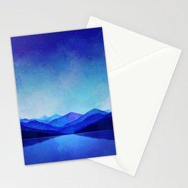 Midnight Blue Stationery Cards