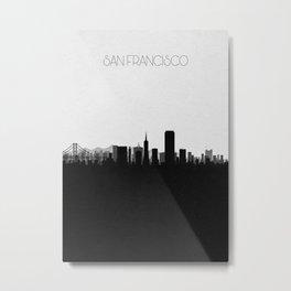 City Skylines: San Francisco Metal Print
