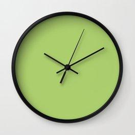 Summer Flower / Light Green (Mix & Match Set) Wall Clock