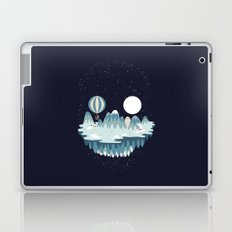 Winter skull Laptop & iPad Skin