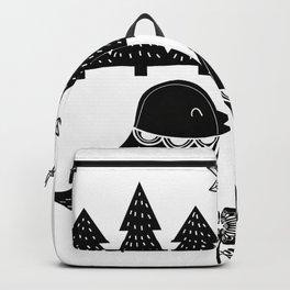 Be Free Birds In Cute Scandinavian Style Backpack