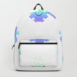 Childrens Fish Pattern Backpack