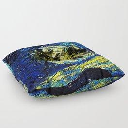 cheshire starry night   Floor Pillow