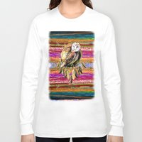 indian Long Sleeve T-shirts featuring Indian Colors by Joke Vermeer