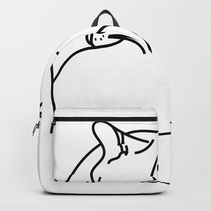 Sleeping Cat Backpack