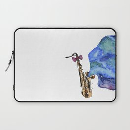 Galaxy Sax Laptop Sleeve