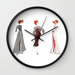 Her Loveliest Things Wall Clock