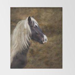 Gypsy cob Throw Blanket