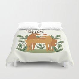 Deer Love Duvet Cover
