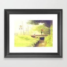 AOSHIGURE Framed Art Print
