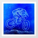 Astronaut Bicycle 2 by scottdickson