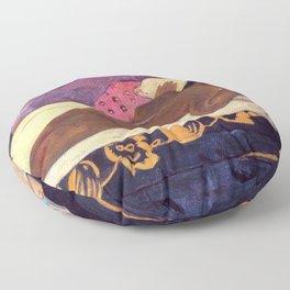Spirit of The Dead Watching - Gauguin Floor Pillow