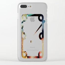 On Que:  Help Wanted Clear iPhone Case
