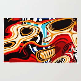Subtho - 9516 Dead Toaster Chillin' (Totem series) Rug