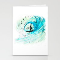surfer Stationery Cards featuring Surfer by Bruce Stanfield