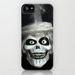The Hatbox Ghost iPhone Case