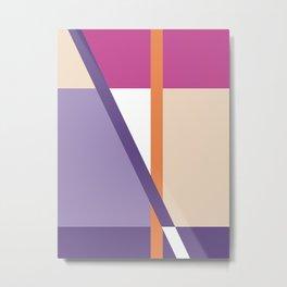 Abstract No. 6 Metal Print