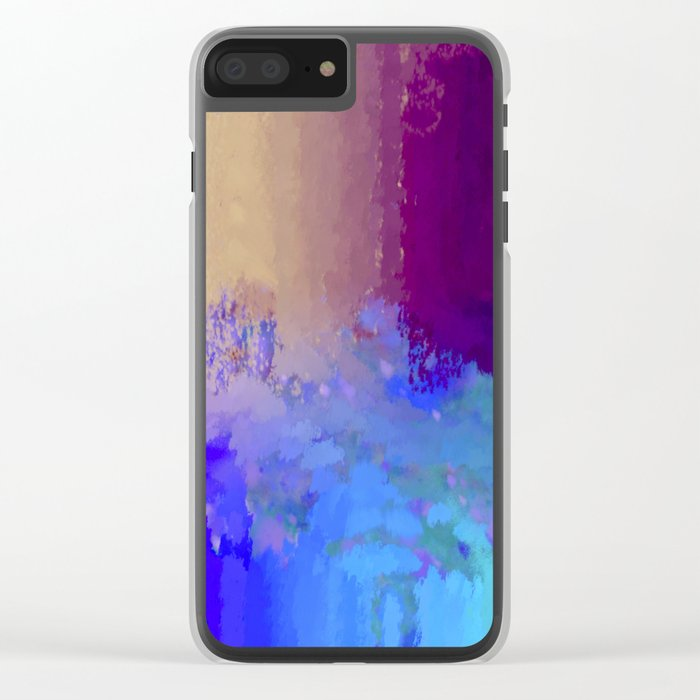 Crazy Matters Clear iPhone Case