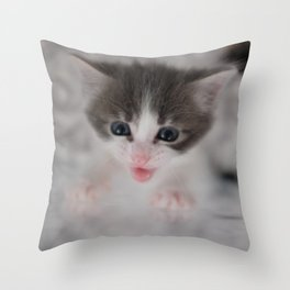 Pick me up I want a cuddle Throw Pillow