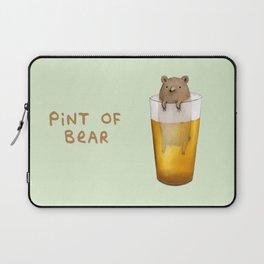 Pint of Bear Laptop Sleeve
