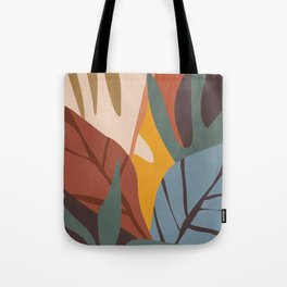 Abstract Art Jungle Tote Bag