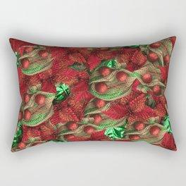 Fire Brick Crusoe Rectangular Pillow