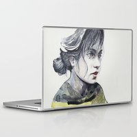 dragonfly Laptop & iPad Skins featuring Dragonfly by agnes-cecile